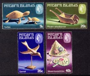 Pitcairn Islands Sc# 194-7 MNH Handicrafts