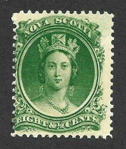 Doyle's_Stamps:  MNH  8 1/2c  Nova Scotia, 1860 Canada -- Scott #11**