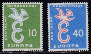 Germany # 790-791, Europa, NH, Half Cat