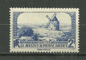 1936 France 307 Windmill at Fontvielle MH
