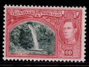 TRINIDAD & TOBAGO GVI SG254, 60c myrtle-green & carmine, M MINT. Cat £17.