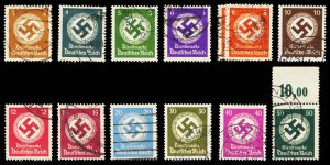GERMANY O92-103  Used (ID # 100213)