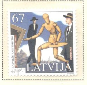 Latvia Sc 661 2006 Novel by Eglitis stamp mint NH