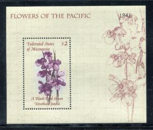 Micronesia 387-388, MNH,  Flowers Orchids 2000. x27150
