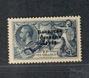 Ireland Sc#95, SG #101 M/NH/VF, APS Cert Seahorse, Cv. $1100