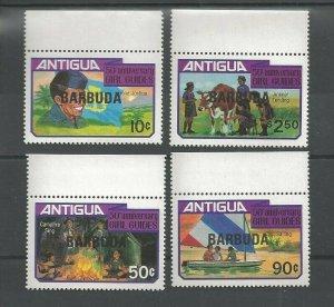 1981 Scouts Antigua Girl Guides 50th anniversary