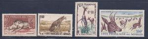 Somali Coast Scott # 271 - 273 & C21 MH