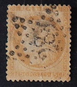 France, 1871, Ceres, SC #56A13, 15 cents, (2147-Т)