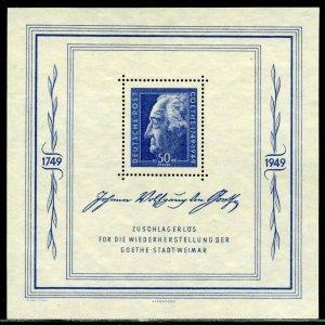 GERMANY SCOTT#10NB11  SOUVENIR SHT MINT NEVER  HINGED--SCOTT VALUE $140.00
