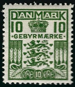 Denmark Sc L2 F-VF Mint OG hr spot..Grab a Bargain!