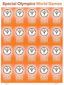 US   4986  MNH     SPECIAL OLYMPICS SHEETS