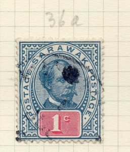 Sarawak 1899 Early Issue Fine Used 1c. 276141