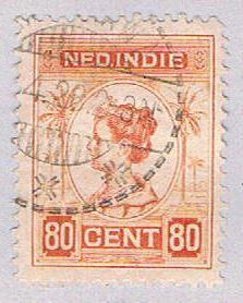 Netherlands Indie 133 Used Queen Wilhelmina 1912 (BP32924)
