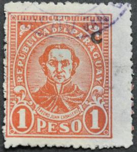 DYNAMITE Stamps: Paraguay Scott #289 - USED