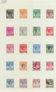SINGAPORE 1948 SET COMPLETE USED TO $5