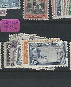 CAYMAN ISLANDS  (P1909B)  KGVI   1D-3D  SG 117-121A, 119A   VFU