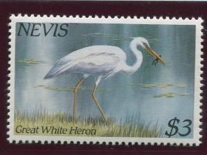 Nevis -Scott 406 -Birds Issue - 1985- MNH - Single $3.00 Stamp