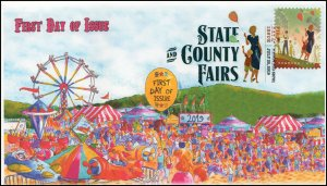 19-172, 2019, State & County Fairs, Digital Color Postmark, FDC,