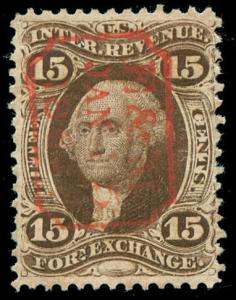 momen: US Stamps #R39c Revenue Used VF