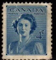 Canada - #276 Princess Elizabeth  - Used