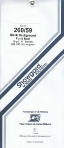 SHOWGARD BLACK MOUNTS 260/59 (10) RETAIL PRICE $10.50