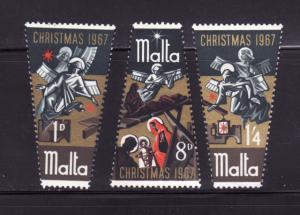 Malta 375-377 Set MHR Christmas (B)
