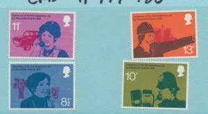 Great Britain Scott #688, Tree Planting Year Issue From 1973 - Free U.S. Ship...