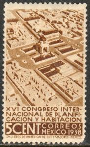MEXICO 740, 5¢ Planification Congress, MINT, NH. VF.