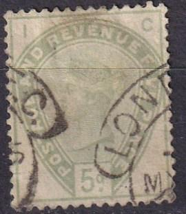 Great Britain #104 F-VF  Used  CV $210.00