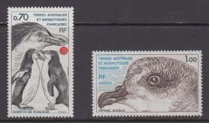 French Southern & Antarctic Territories   #82-83   mnh      cat $2.00