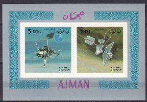 Ajman Mi#Block35B MNH (Z5769L)