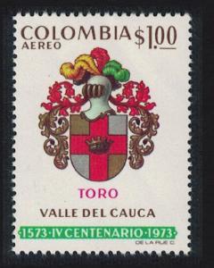 Colombia 400th Anniversary of Toro 1v SG#1345