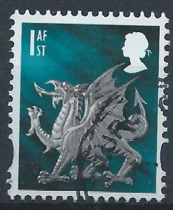 GB Wales 1st class - used