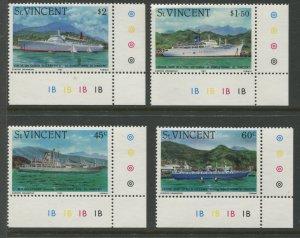 STAMP STATION PERTH St Vincent #662-665 Set  MNH CV$3.50.