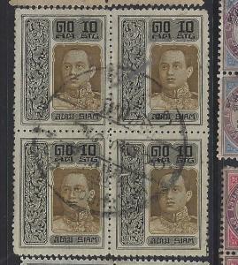 THAILAND (PP1312B)  RAMA       SC   167   BL OF 4    VFU