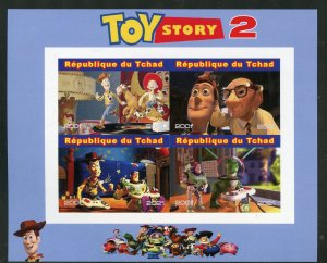 Chad 2021 'Toy Story 2' imperf sheet mint nh