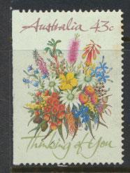 Australia SG 1231  Used imperf left margin from booklet