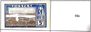 A) 1910, UBANGI-SHARI-AFRIQUE EQUATORIALE FRANCAISE, CHIFFRE TAXE, POSTAGE DUE,