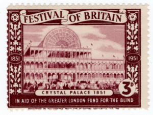 (I.B) Cinderella Collection : Festival of Britain - Crystal Palace 3d