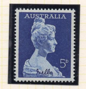 Australia 1961 Early Issue Fine Mint Hinged 5d. 223889