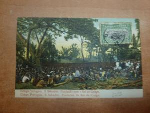 Belgian Congo 5c on PPC to France, see CDS (4bee)