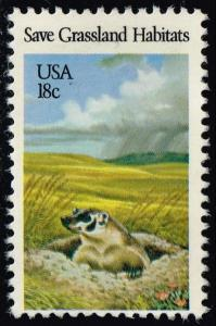 US #1922 Badger; Used (0.25)