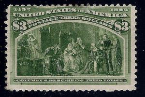 U.S. 243 Mint FVF (1201)