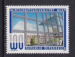 Austria   #1769  MNH   1998   university commercial studies