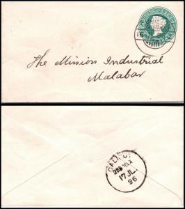 Goldpath: India postal stationery 1896  _CV23_P12