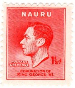 Nauru Scott 35-38 (1937: King George VI)