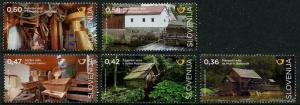 HERRICKSTAMP NEW ISSUES SLOVENIA Sc.# 1174-78 Mills