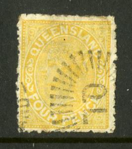 QUEENSLAND 94 USED SCV $4.75 BIN $1.75 ROYALTY
