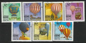 GUINEA BISSAU 442-48 CTO BALLOONS H193