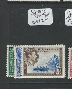 GILBERT AND ELLICE (PP1203B) KGVI SG 46-9  MNH